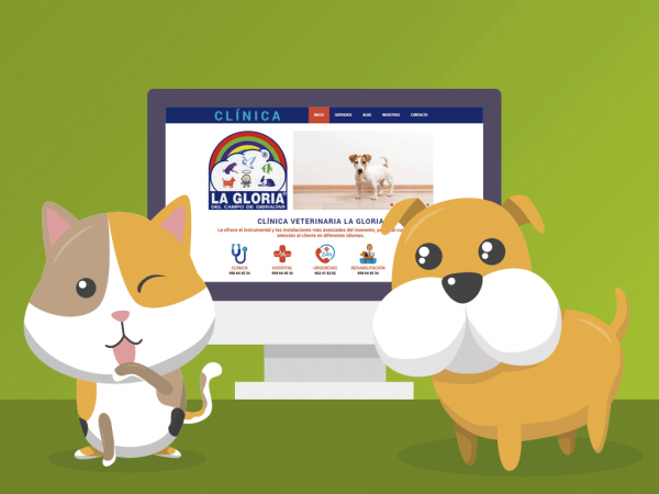Images of We're launching a new website and blog - La Gloria Veterinary Clinic